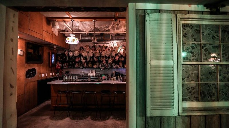 This Halloween-themed pop-up bar in Shaw summons evil spirits