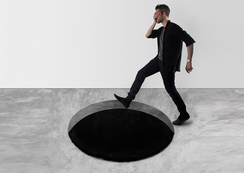 Void rug is a frightening experience for your guests