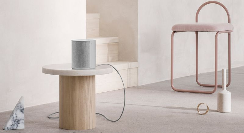 B&O's $300 M3 multi-room speaker comes with swappable front covers