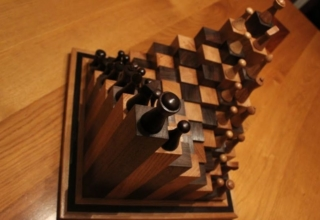 DIY 3D chess board by Andy Philip