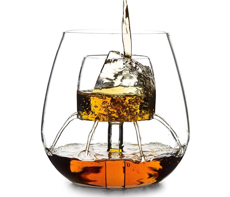 Dillon Burroughs' Fountain Aerating wine glass