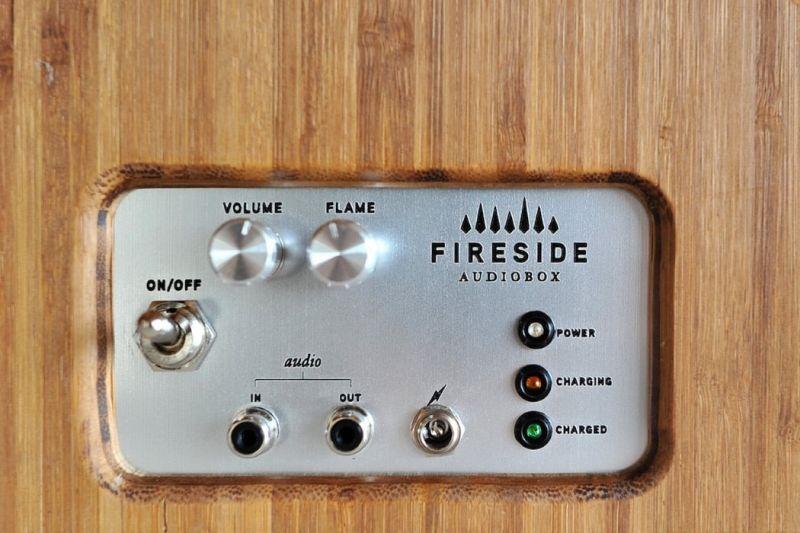 Heinrich Rubens's Fireside Audiobox wireless speaker