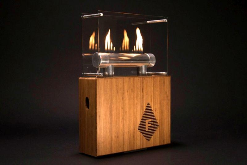 Heinrich Rubens's Fireside Audiobox