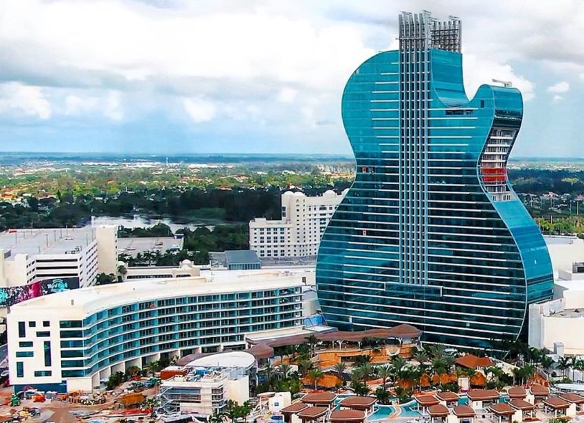 Guitar-Shaped Hotel Destined to be Next Big Attraction in Hollywood, Florida