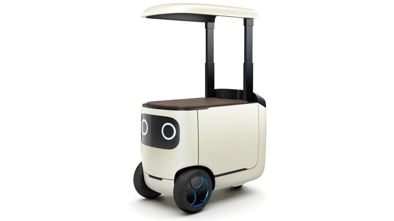 Honda's RoboCas robot cooler fetches you beer, babysits your kids