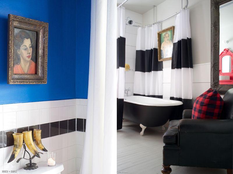 Pianting in bathroom-1