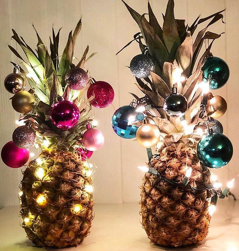 Pineapple Christmas Tree - Christmas decorations