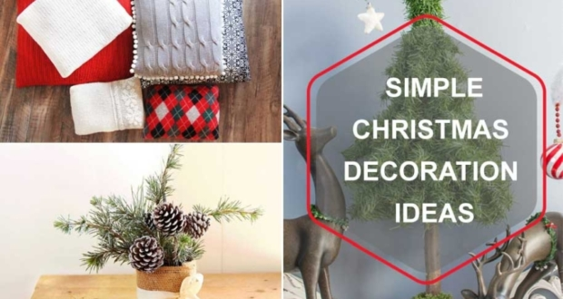 Simple-Christmas-Decoration-Ideas for 2019