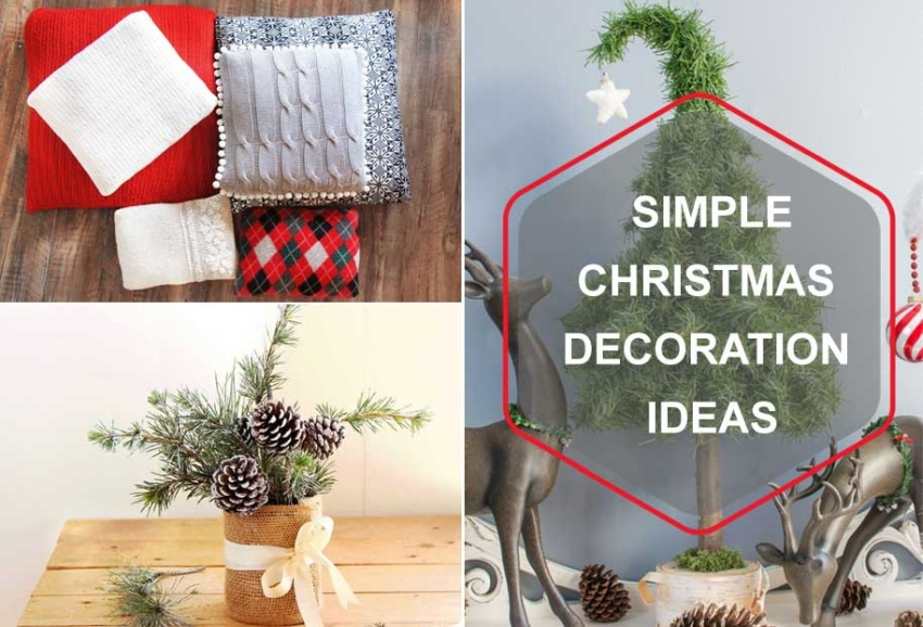 Simple-Christmas-Decoration-Ideas for 2019