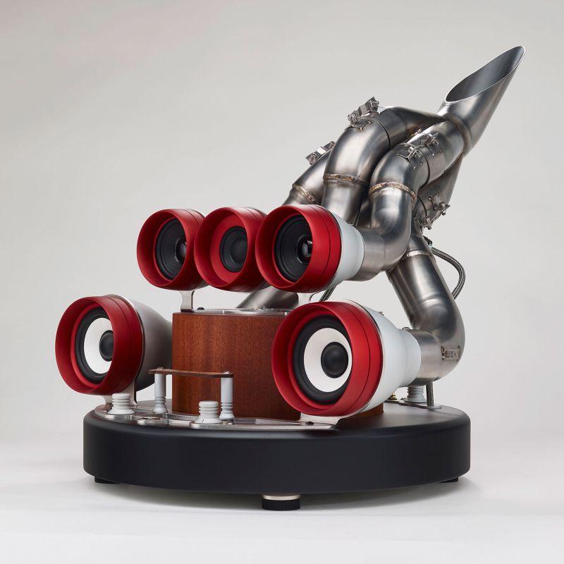 Speaker for car lovers