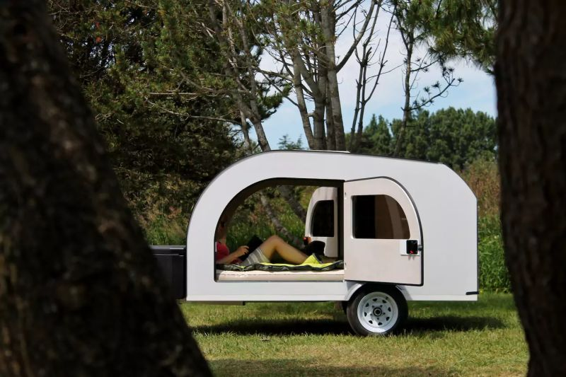 You can now rent a teardrop trailer for US$64/night at Airbnb
