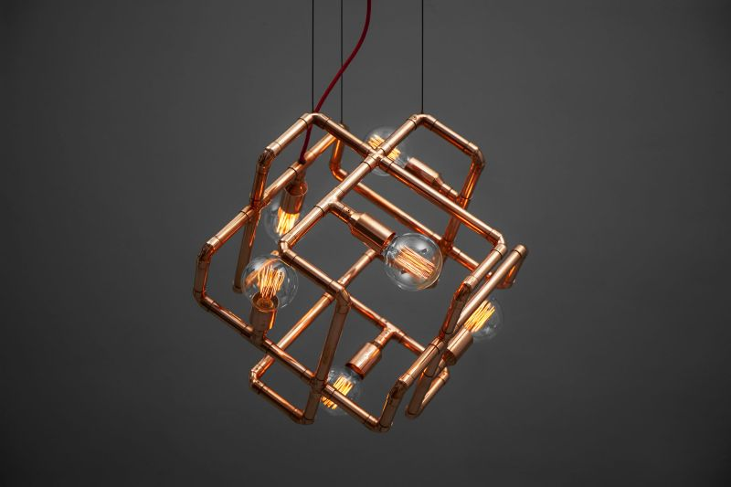 Zapalgo's dimmable lamps add a dash of steampunk to any space