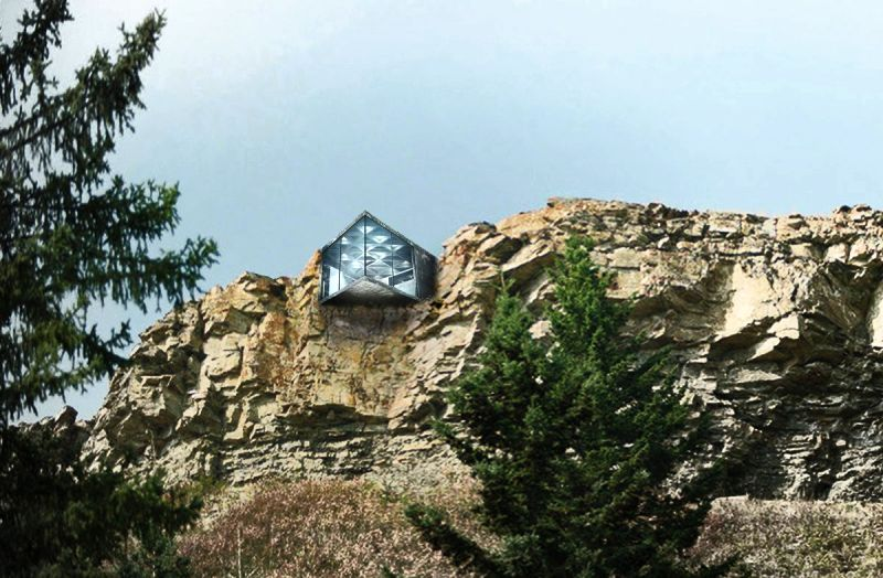 Casa Brutale designer throw back another mind-blowing Marlah cliff house