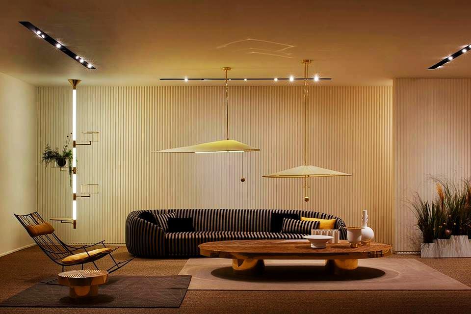 Fendi Welcome living room furniture collection by Chiara Andreatti at Design Miami 2017