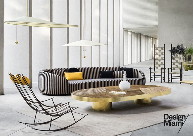 Fendi Exhibits Welcome Living Room Furniture Collection At Design Miami