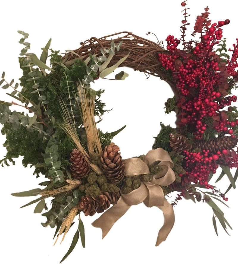 Henrys Original Cannabis Wreath-1