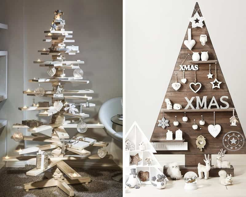 20+ Alternative Christmas Tree Ideas to Try in 2019