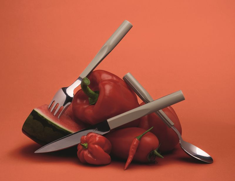 Philippe Starck's newly designed cutlery for Degrenne