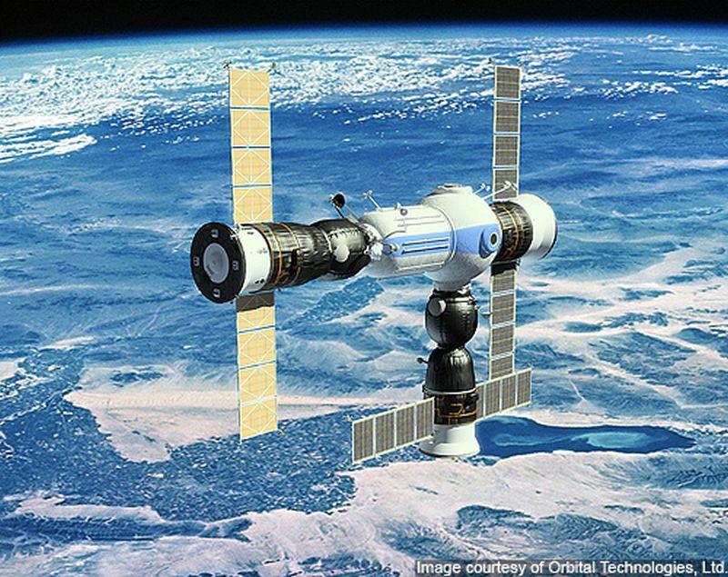 Space hotel by Orbital Technologies