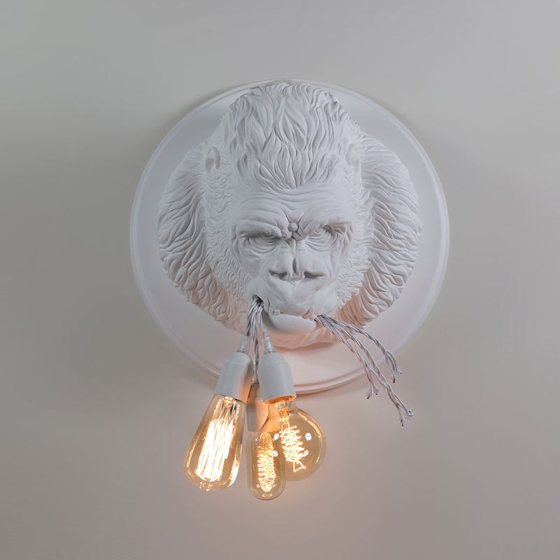 UgoRilla wall lamp, Matteo Ugolini creation inspired from the wild