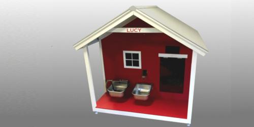 Bright Canine custom smart doghouse