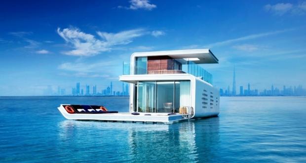 Floating seahorse underwater villas Dubai