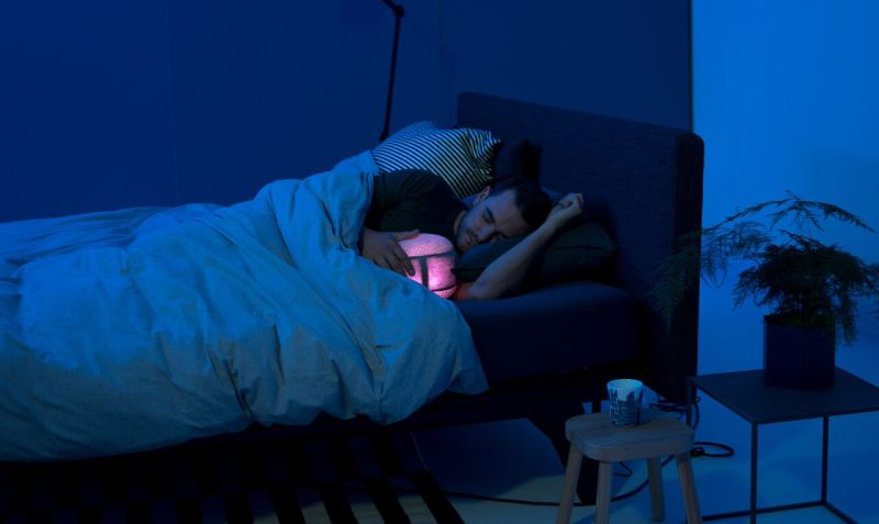 sleep robot, sleep aid device, Indiegogo, Kickstarter, CES 2018 , CES , Royal Auping, sleep aid gadget,