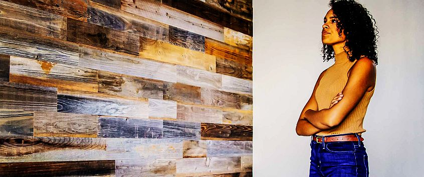 These Reclaimed Wood Panels Gives your Wall a New Look within Hours