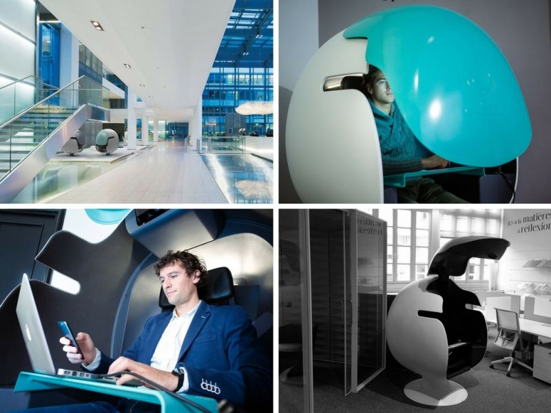 E-Bulle Office Pod by LEET Design