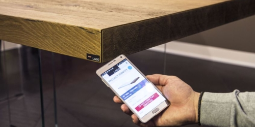 Lago's smart furniture can interact with people