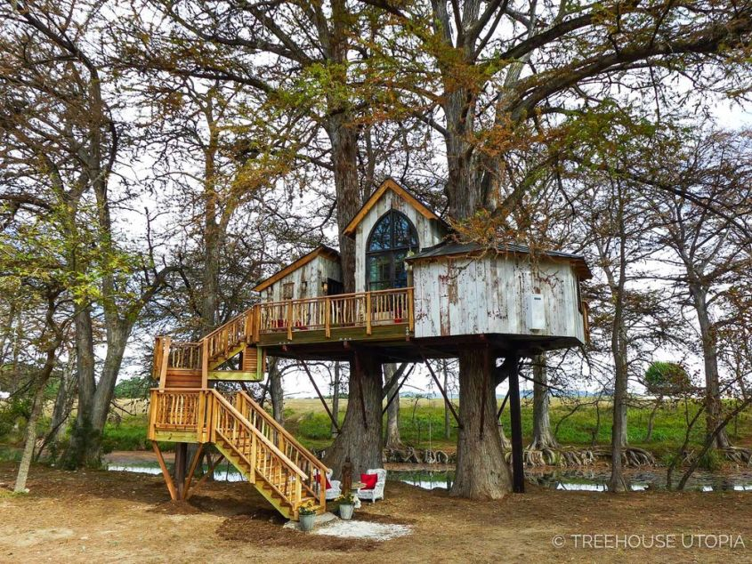 Treehouse Utopia: Pete Nelson's romantic vacation retreat for Laurel Tree Restaurant