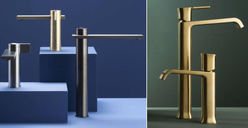 Ritmonio faucets at Salone del Mobile 2018