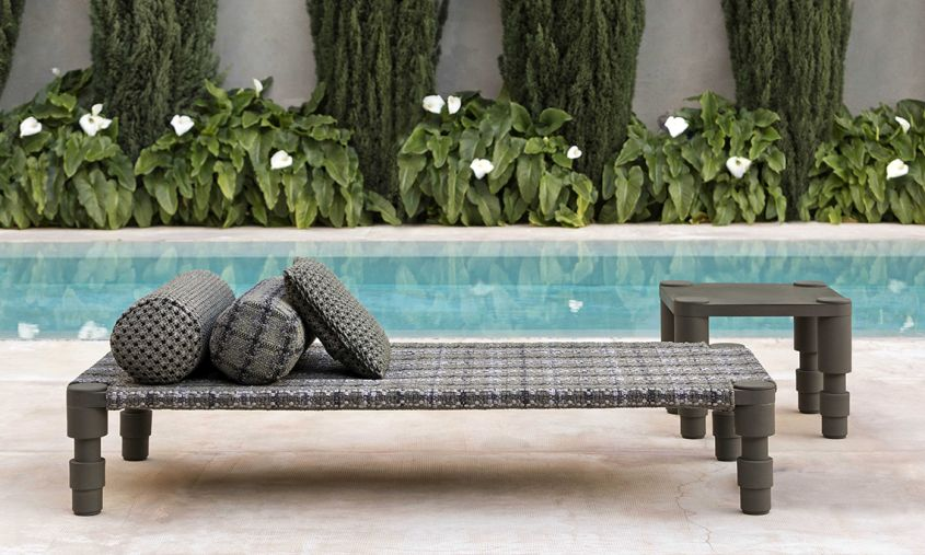 Indian Handloom-Inspired outdoor furniture