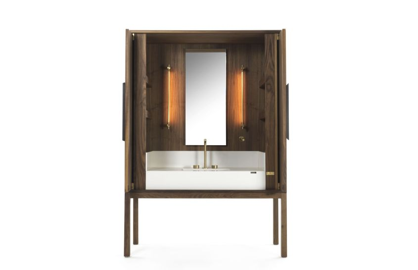 Riva 1920 Collaborates with Cosentino to Create DeKauri Freestanding Bathroom Vanity