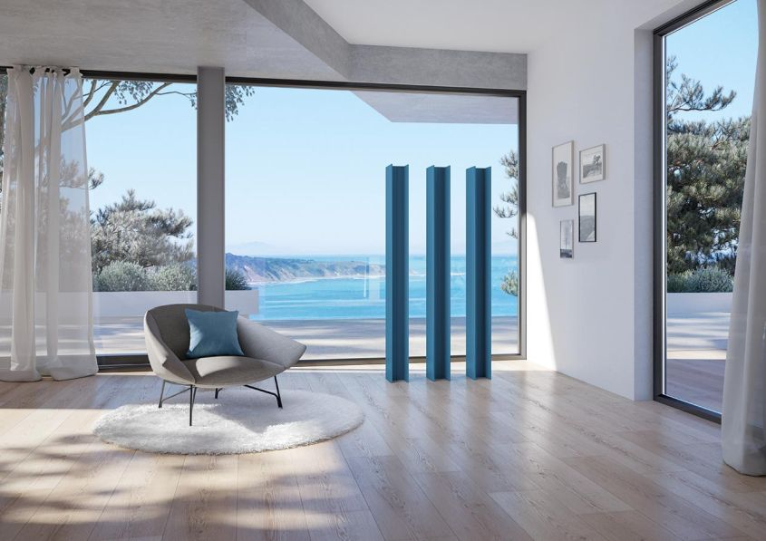 Antrax IT's T Tower Vertical Radiator for Modern Living Room