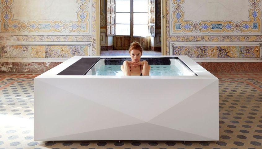 Take Your Bathroom to Next Level with Aquavia Spa's Origami Hot Tub