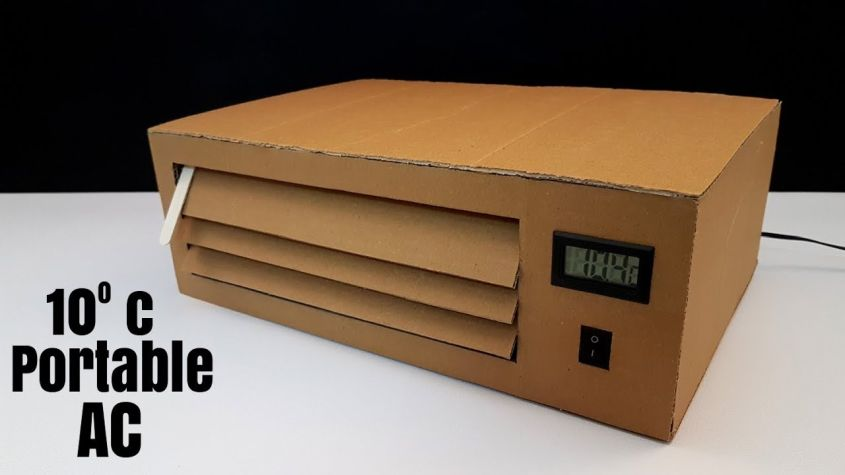How to DIY a Cardboard Air Conditioner