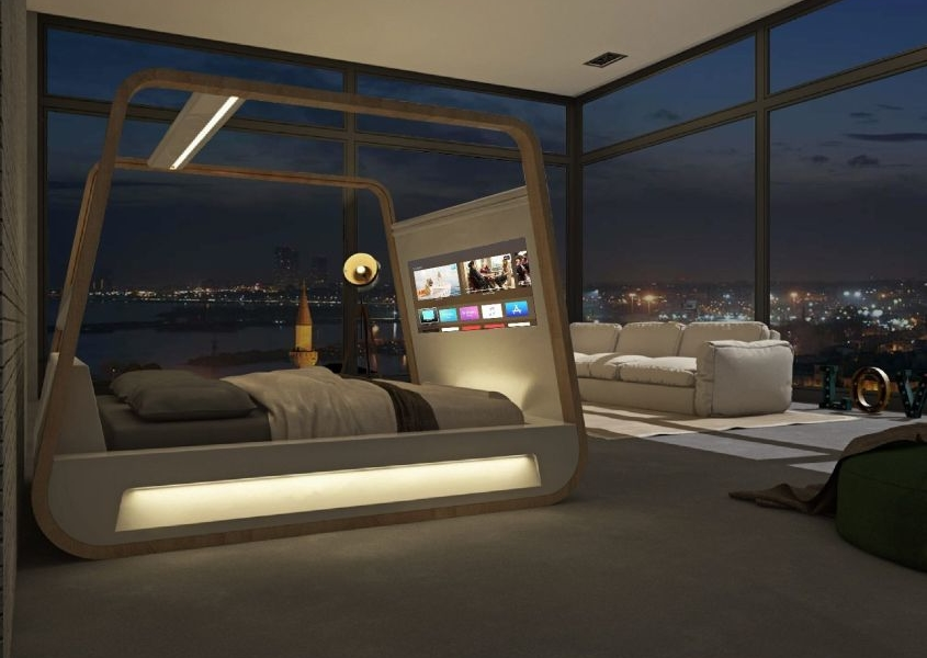 Hi-Interiors HiBed Smart Bed can Track Your Sleep and Health