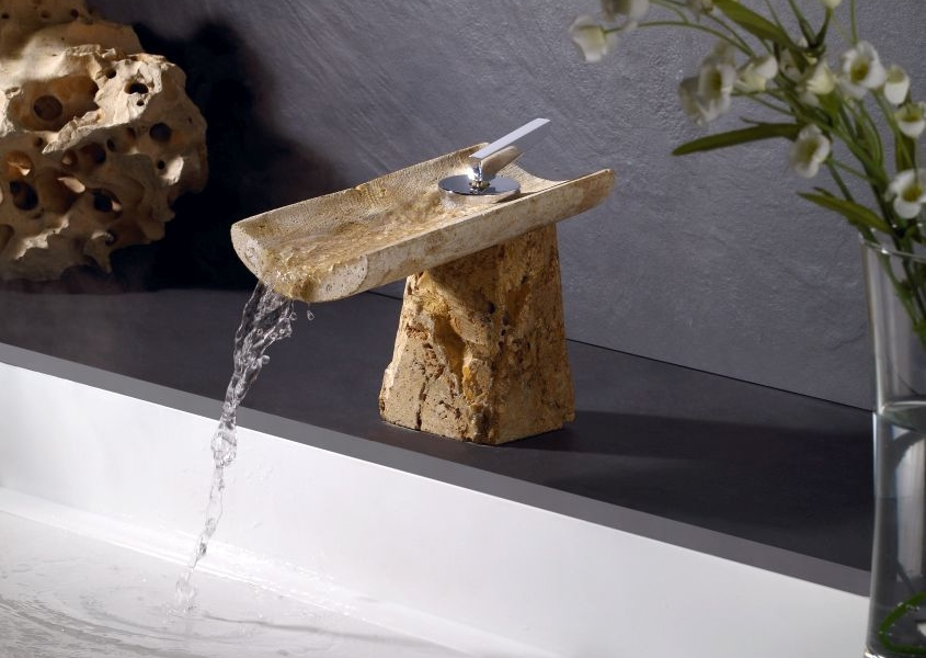 SRG NATUR Line of Stone Faucets from Marti 1921