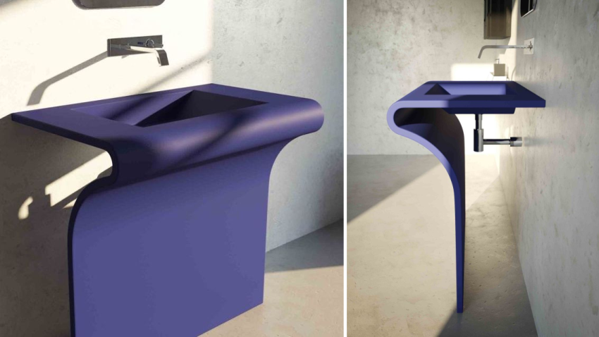 Componendo Introduces Diciotto Washbasin with Antitouch Treatment