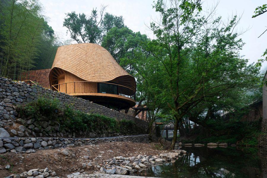 Treewow Villa O Monoarchi Architects Treehouse