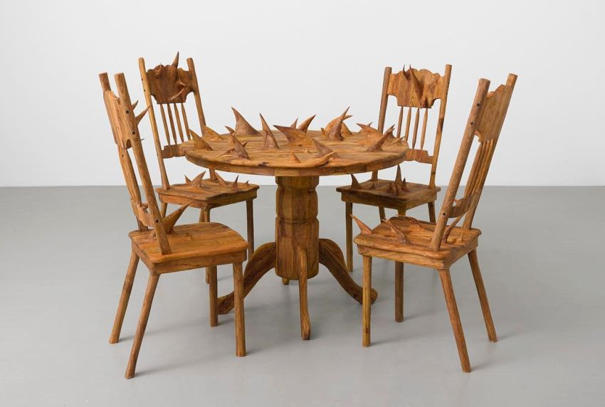 Hugh Hayden Furniture collection with Spikes and Branches