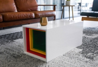 Lego Coffee Table by Yusong Zhang
