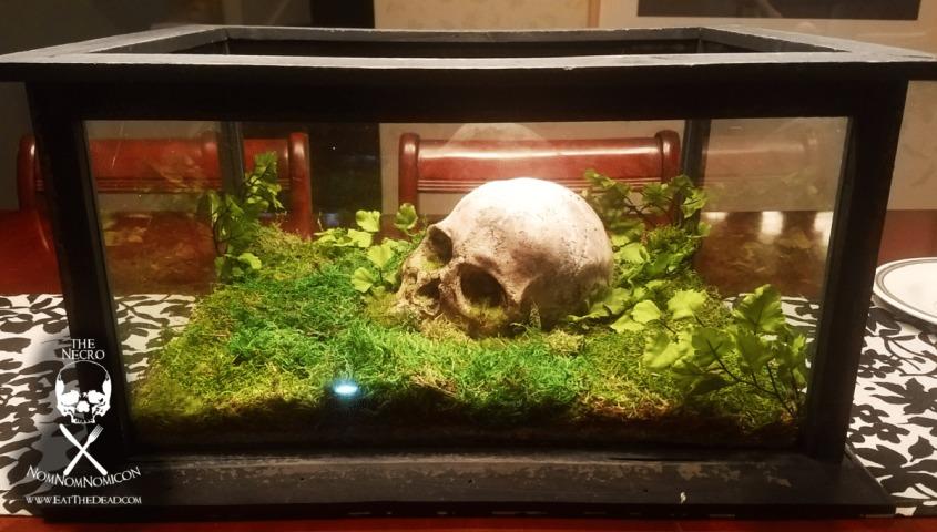 DIY Skull Terrarium by Eat The Dead