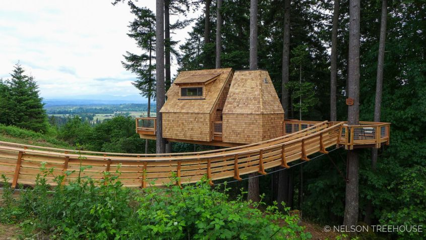 Pete Nelson's Rustic Treehouse in Oregon Premiers on Treehouse Masters