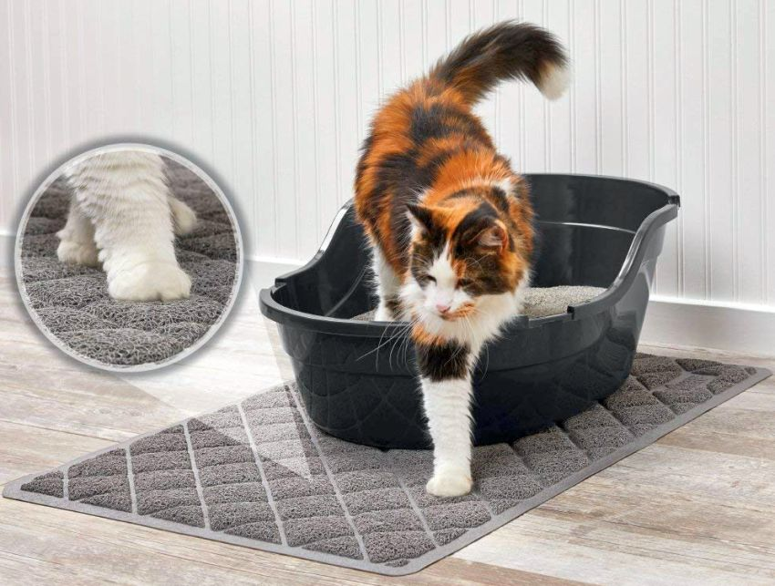Gorilla Grip Cat Litter Mat