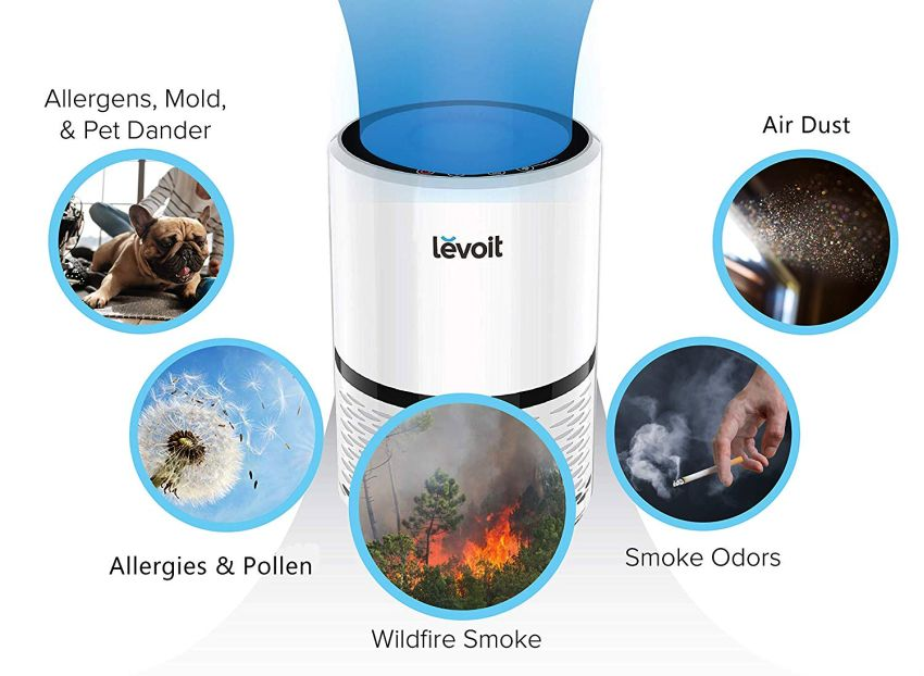 LEVOIT LV-H132 Air Purifier - Gifts for Boyfriend