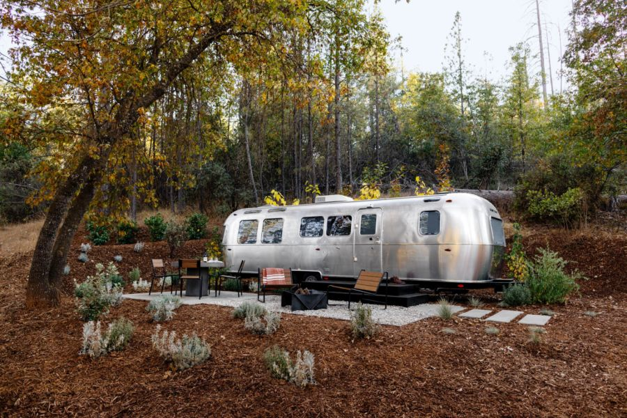 Autocamp Custom Airstream trailers in California