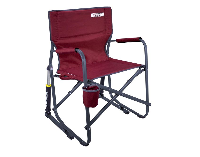 GCI outdoor freestyle rocker camp chair