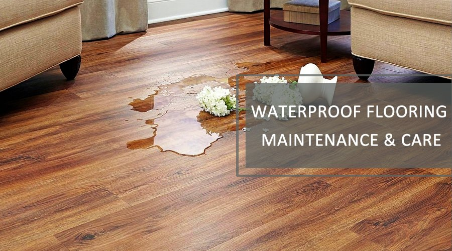 How to clean waterproof flooring